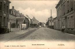 België - Eeckeren - Groote Steenstraat - 1909 - Sin Clasificación