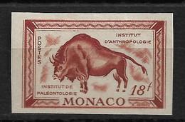 Monaco N°331** Non Dentelé Essai De Couleur. Paleontologie. - Errors And Oddities