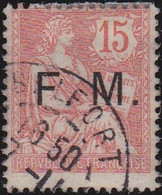 France    .  Y&T    .   Fm  2      .   O     .    Oblitéré - Franquicia Militar (Sellos)