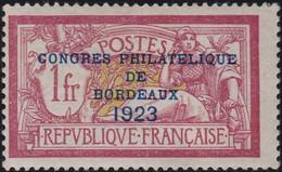 France    .  Y&T    .  182  (2 Scans)      .   *      .   Neuf Avec Gomme Et Avec Charnière  .  /  .   Mint-hinged - Ungebraucht