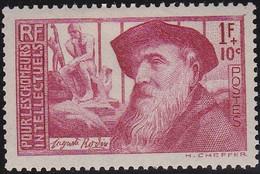 France    .  Y&T    .  384     .   *      .   Neuf Avec Gomme Et Avec Charnière  .  /  .   Mint-hinged - Unused Stamps