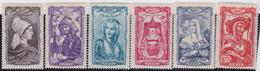 France    .  Y&T    .    593/598       .   **      .   Neuf Avec Gomme Et SANS Charnière  .  /  .   MNH - Unused Stamps