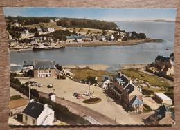 CPSM Grand Format - EN AVION AU DESSUS DE ... NOTRE DAME DU GUILDO - Le Port Du Guildo Et La Place - Andere Gemeenten