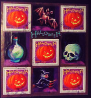 France 2001 Halloween Bloc Feuillet Yvert BF40 O Used - Used