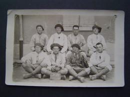 CARTE PHOTOGRAPHIE Ancienne 1924 : MILITARIA / CHAMBRE 20 / 159 RIA - CHASSEURS ALPINS à EMBRUN ( HAUTES ALPES ) - Documents