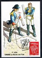 Napoleon , La Roche Sur Yon, Carte Maximun FDC 0.98€. Statue De L'empereur Place Napoléon, Qui A Institué Le Pentagone, - 2010-...