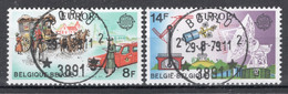 BELGIE: COB 1930/1931 Mooi Gestempeld. - Oblitérés