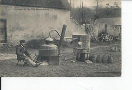 SCENES DE LA VIE NORMANDE   Distillerie De  Cidre - Artisanat