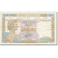 France, 500 Francs, La Paix, 1940, 1940-06-20, TB, Fayette:32.3, KM:95a - 500 F 1940-1944 ''La Paix''
