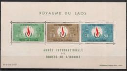 Laos - 1968 - Bloc Feuillet BF N°Yv. 40 - Droits De L'homme - Neuf Luxe ** / MNH / Postfrisch - Laos