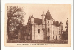 Haute Loire Le Château De St Romain Lachalm - Altri Comuni