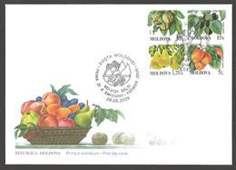 Moldova - Fruit, FDC, 2009 - Sonstige