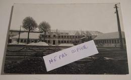 17 Charente Maritime Saintes Gare Carte Photo Bureaux Administratifs Du Dépôt En Travaux En Avril 1947 Tres Rare - Saintes
