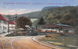 Vogesen-Vosges-Grandfontaine-Vallée Bruche-Donon-Salm-Kleinbahn-Feldbahn-Station Drahtseilbahn-Bahnhof-Train-Krieg-14/18 - Otros Municipios