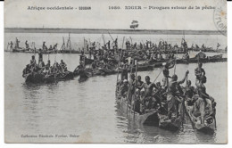 Niger - Pirogues Retour De La Pêche - Niger