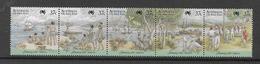 1988 MNH Australia, Michel 1074-8 Postfris** - Nuevos