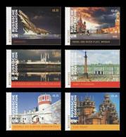 United Nations (Vienna) 2020 Mih. 1091/96 UNESCO World Heritage In Russia (II) MNH ** - Nuovi