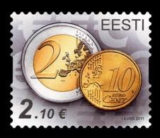 Estonia 2011 Mih. 712 Euro Coins MNH ** - Estland