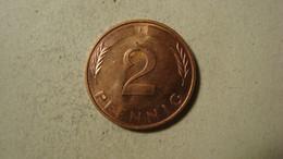 MONNAIE ALLEMAGNE 2 PFENNIG 1994 F - 2 Pfennig