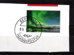 2013 Iceland Aurora Borealis Polar Light  Used On Paper Mi 1399 - Used Stamps