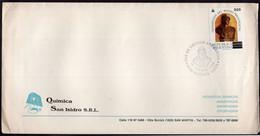 Argentina - 1989 - Carta - Matasello Especial - Transmision Del Mando Presidencial - Quimica San Isiadro SRL - A1RR2 - Lettres & Documents