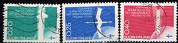 FINLANDE/Oblitérés/Used/1967 - YVERT N° 603/605 / MICHEL N° 633/635 - Gebraucht