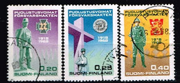 FINLANDE/Oblitérés/Used/1968 - YVERT N° 611/613  / MICHEL N° 644/646 - Gebraucht