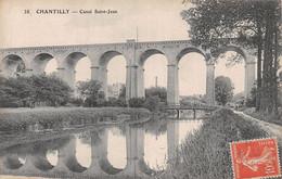 60  CHANTILLY CANAL SAINT JEAN  42-0846 - Chantilly