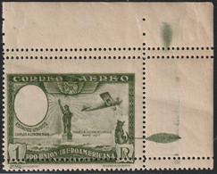 1930. * Edifil: 588. PRO UNION IBEROAMERICANA AEREA-SIN EFIGIE/DENTADO HORIZONTAL DOBLE - Ongebruikt
