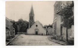 94 - VILLECRESNES - La Place De L'Eglise - Animée - Marcophilie Militaire - 1914 (C12) - Villecresnes