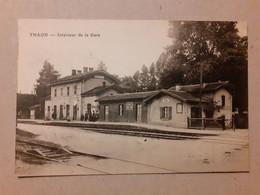 CPA - 88 - THAON - Intérieur De La Gare - Thaon Les Vosges