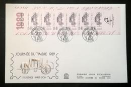 Enveloppe FDC Grand Format - 1889 - JOURNEE DU TIMBRE - 2000-2009