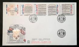 Enveloppe FDC Grand Format - 1889 - BLOC PERSONNAGES REVOLUTION - 2000-2009