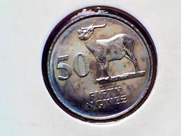 Zambia 50 Ngwee 1992 KM 30 - Zambia