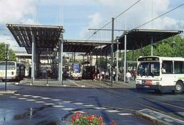Nantes Animée Station Pirmil Tramway Ligne 2 Tram Bus Heuliez Autobus Car Autocar - Nantes