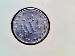 Burundi 1 Franc 1970 KM 18 - Burundi