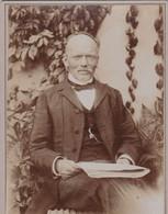 """Cliché Sur Carton  - Carte De Visite Du Pasteur """" Victor Segond """" -  Protestantisme, Protestant   - Voir Description - Andere"""