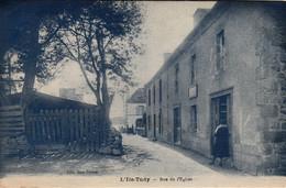Thematiques 29 Finistère Loctudy Ile Tudy Rue De L'Eglise - Loctudy