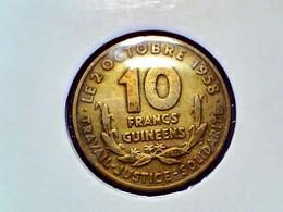 Guinea 10 Francs 1959 KM 2 - Guinea