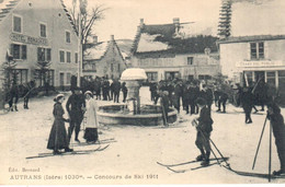 Autrans - Concours De Ski 1911 - Altri Comuni