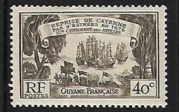 GUYANE N°137 N* - Unused Stamps
