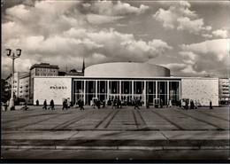 ! 1965 Ansichtskarte Aus Berlin, Karl Marx - Allee, Filmtheater, Kino, Cinema, Kosmos, Maschinenwerbestempel, Kulturbund - Friedrichshain