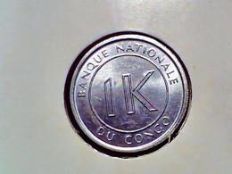 Congo Democratic Republic 1 Likuta 1967 KM 8 - Congo (Democratic Republic 1964-70)