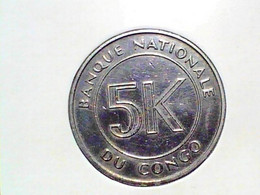 Congo Democratic Republic 5 Makuta 1967 KM 9 - Congo (Democratic Republic 1964-70)
