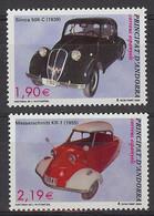Andorra 2004.  Automovil Ed 319-20  (**) - Unused Stamps