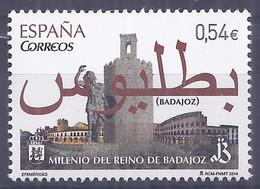 Spain 2014. Reino De Badajoz. Ed: 4868 Mnh(**) - 2011-... Nuovi & Linguelle