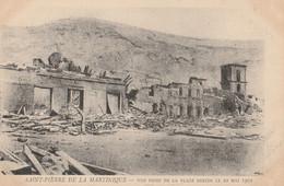 SAINT PIERRE DE LA MARTINIQUE - Vue Prise De La Place Bertin Le 10 Mai 1902 - Unclassified