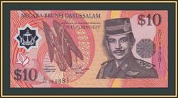 Brunei 10 Dollars 1998 P-24 (24b) UNC - Brunei
