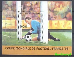 Guinea 1997 Mi Bl 506 MNH ( ZS5 GURbl506 ) - 1998 – France