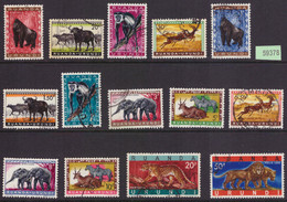 Ruanda 205/16 +216A Et 216 B (o) - 1948-61: Used